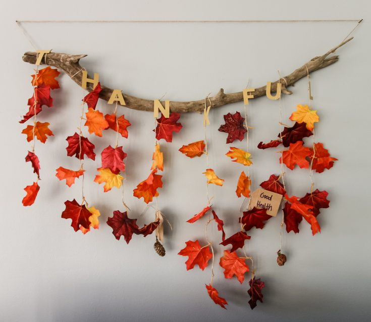 How to make a THANKFUL Thanksgiving Wall Hanging