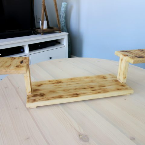 How to Build a Three Tiered Serving Platter