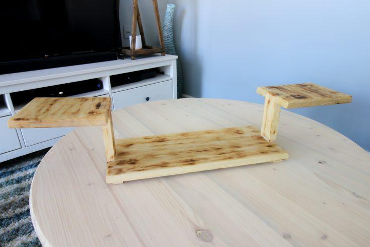 DIY Three Tiered Serving Platter - Charleston Crafted