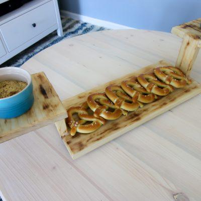 DIY Three Tiered Serving Platter