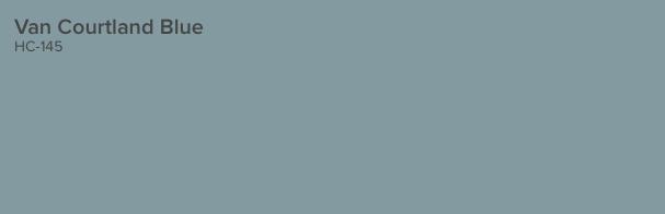Van Courtland Blue by Benjamin Moore (HC 145)