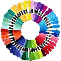 Embroidery Floss Rainbow Color