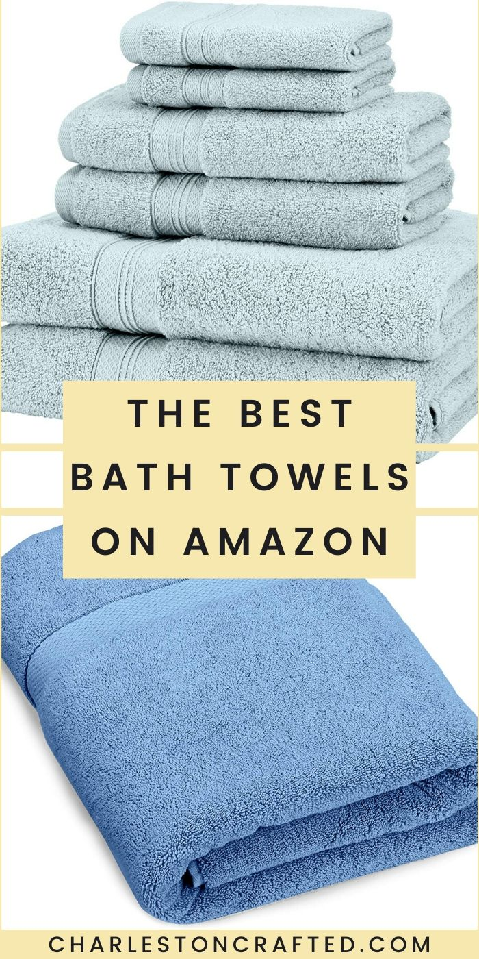 The best Pinzon bath towels on Amazon