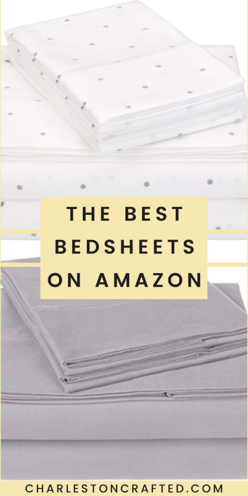 the best Pinzon bed sheet sets on Amazon