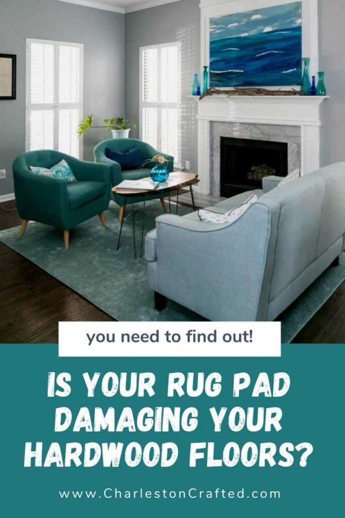 can rug pads damage hardwood floors?