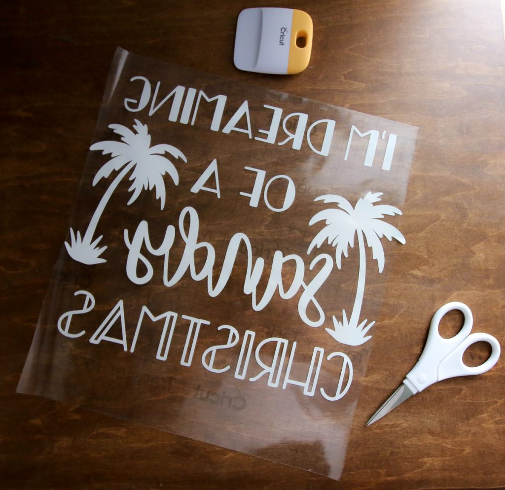 How to make a DIY wood and vinyl sign with a Cricut