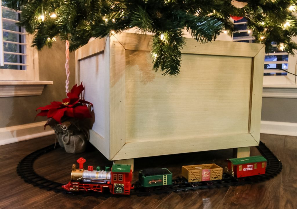 Diy Christmas Tree Box Stand Free Easy Plans