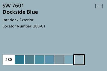 Dockside Blue by Sherwin Williams