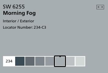Morning Fog by Sherwin Williams