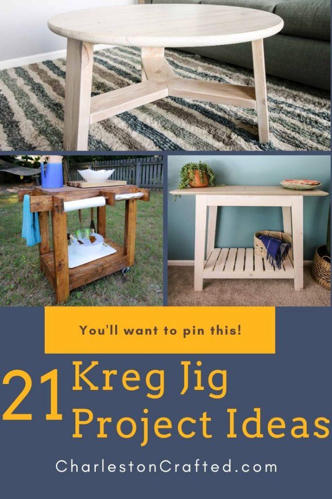 Kreg Jig Project Ideas