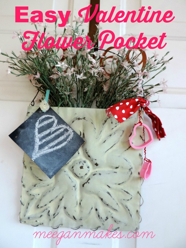 EASY Valentine Flower Pocket