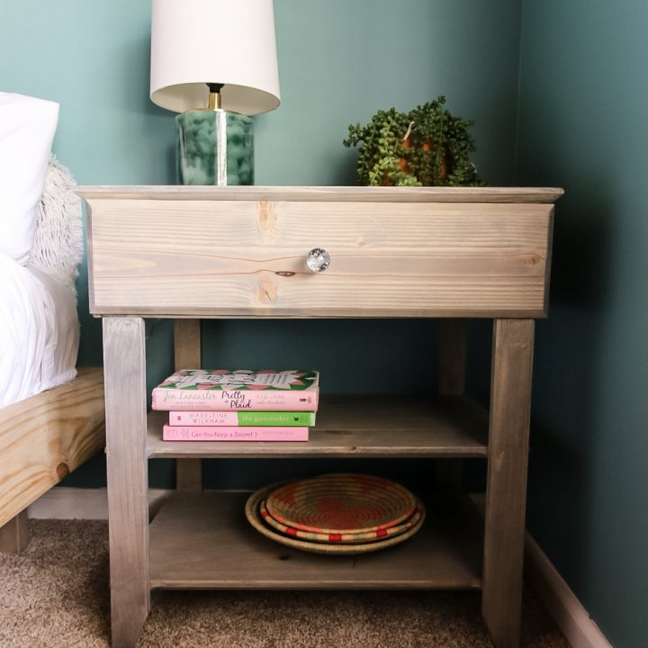 How to Build a Nightstand with Drawer