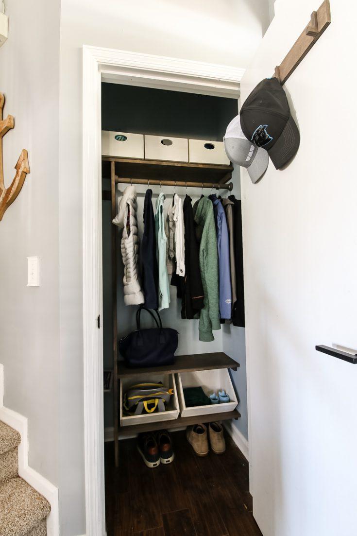 Custom Entryway Closet
