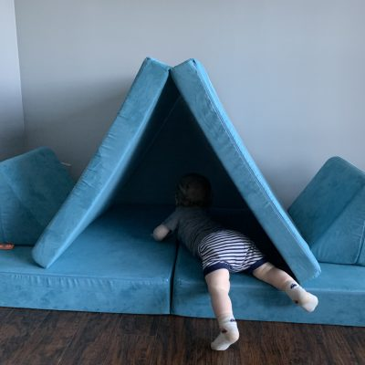 Why we LOVE our Nugget Couch- A 2020 Nugget Comfort Review