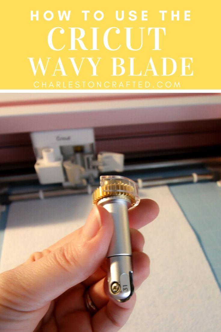 Cricut wavy blade