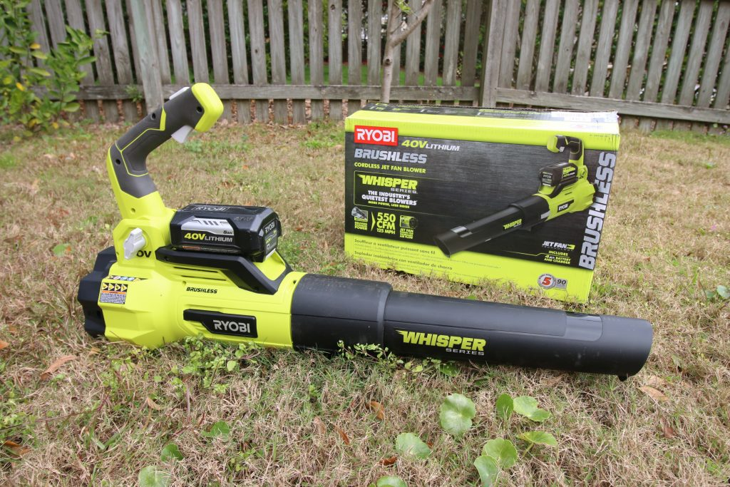 RYOBI Whisper Series Jet Fan Blower Review