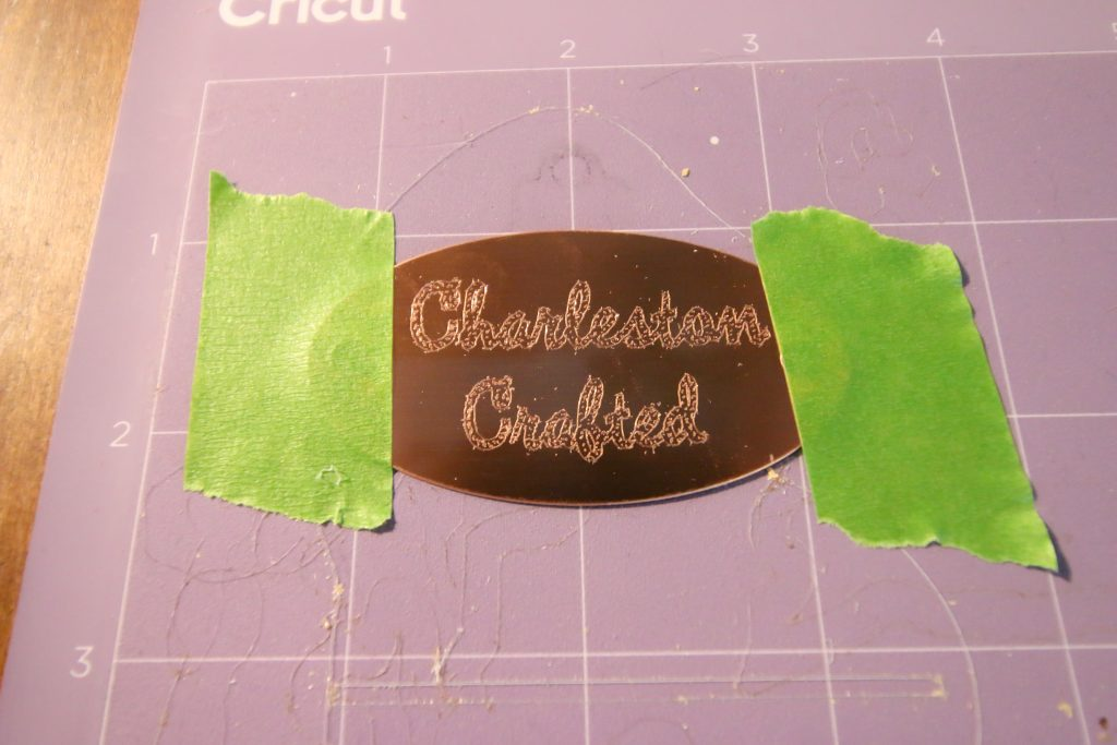 how to engrave copper tags with a cricut maker