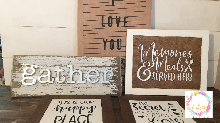 Making a Wooden Sign with a Picture Frame