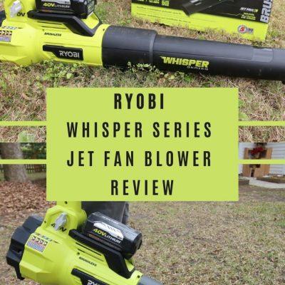 RYOBI Whisper Series Jet Fan Blower Review