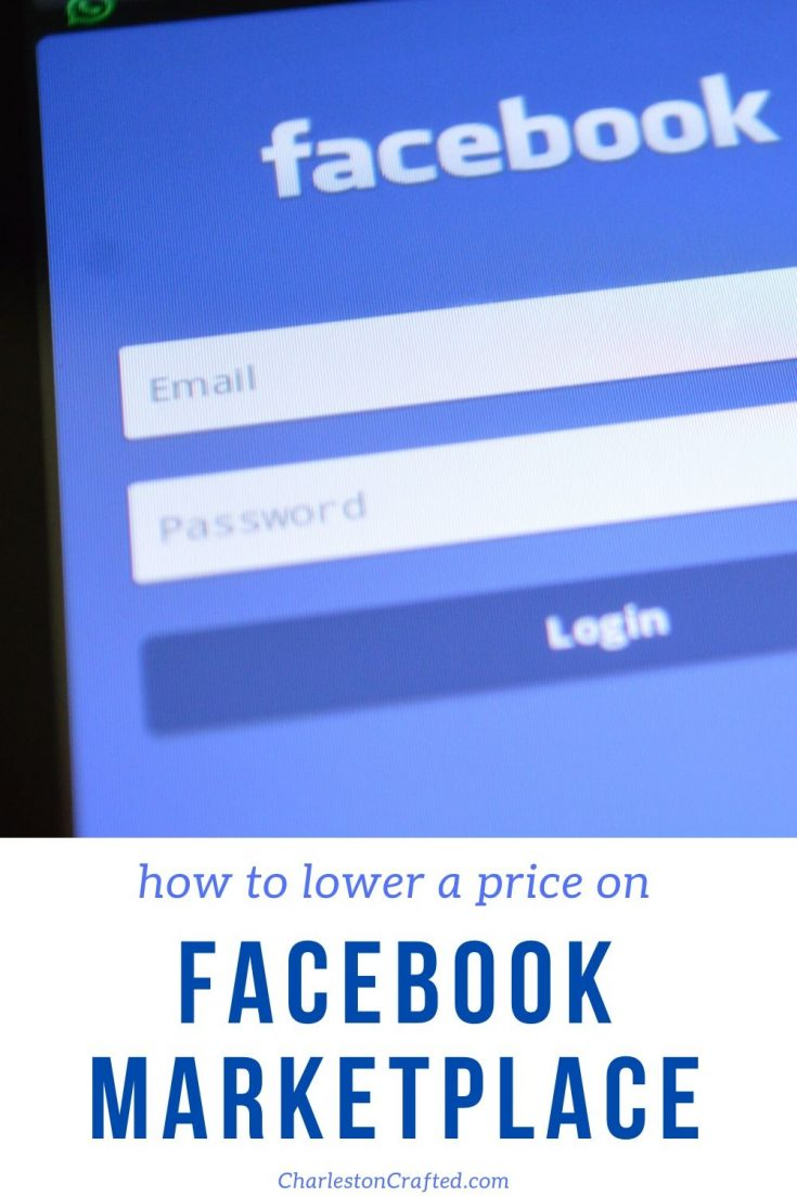 how to lower price on facebook marketplace
