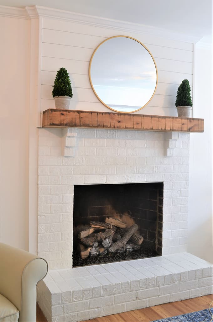Fireplace Makeover + CO Safety Tips with First Alert