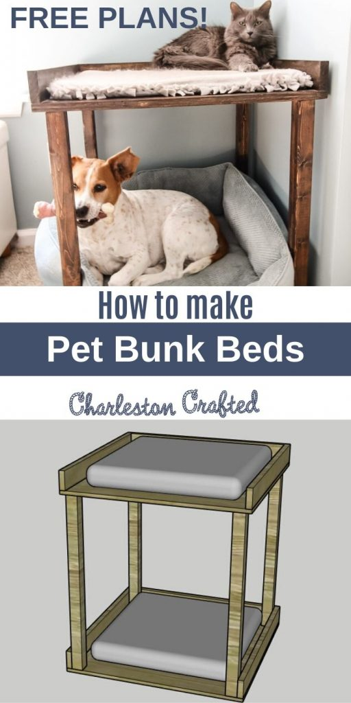 DIY Pet Bunk Bed - Free Woodworking Plans