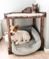 DIY Pet Bunk Bed – FRE PDF Woodworking Plans