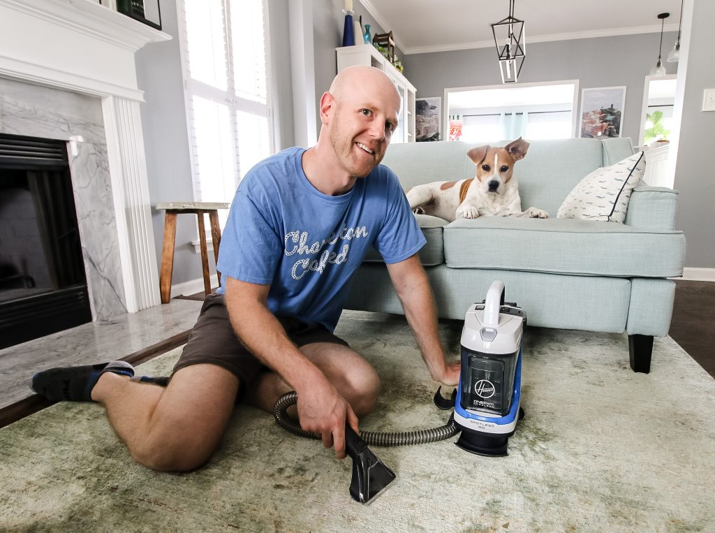 Spring Cleaning with Hoover ONEPWR - Charleston Crafted