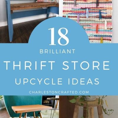 18 Amazing Thrift Store Makeovers & Upcycle Ideas