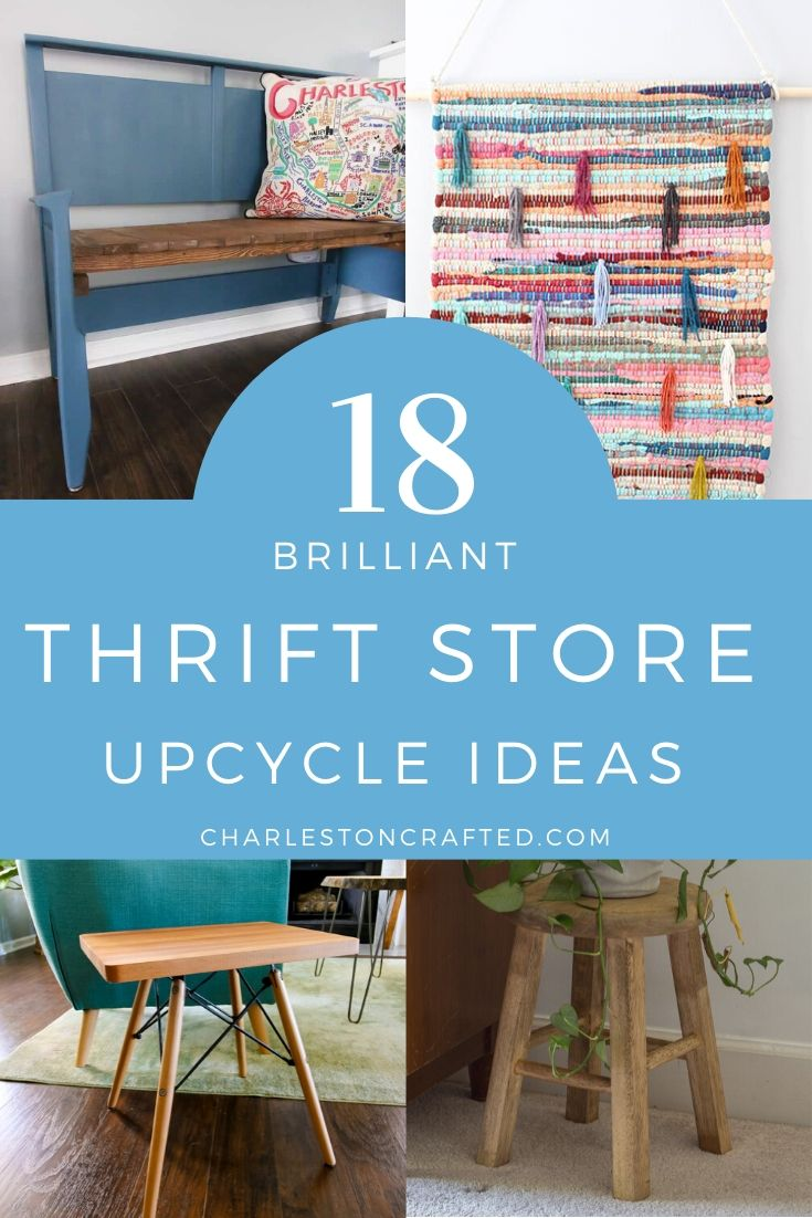 best thrift store upcycle ideas