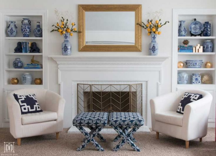 How to Paint a Brick Fireplace Quickly