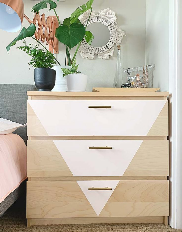 Trendy DIY Dresser Makeover with Our Homemade Chalk Paint Recipe! • The Budget Decorator