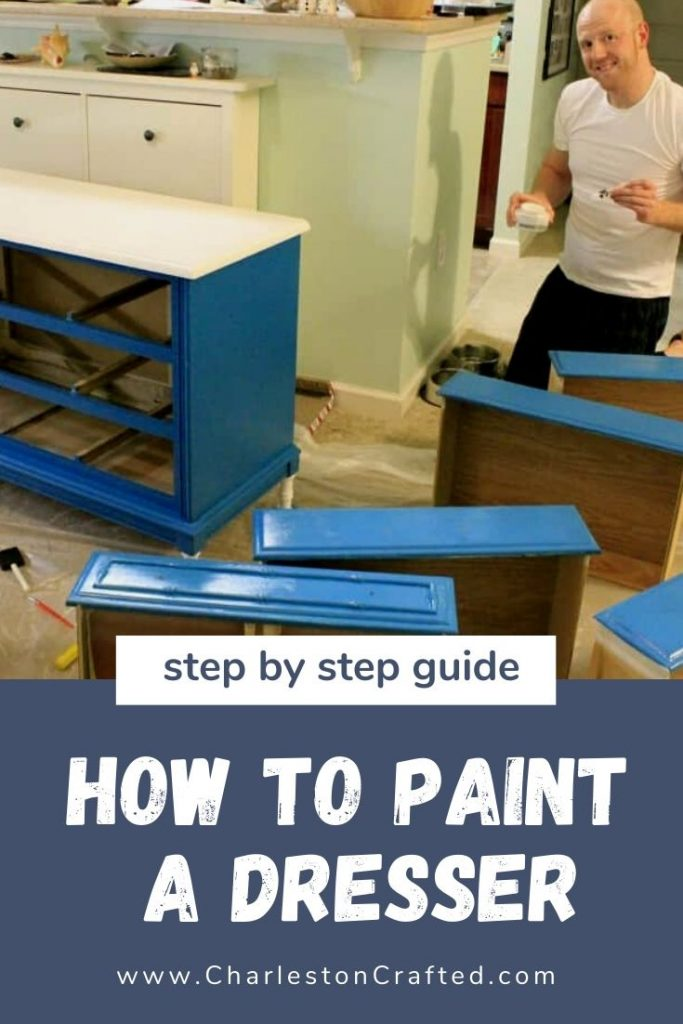 how to paint a dresser - a step by step guide (1)
