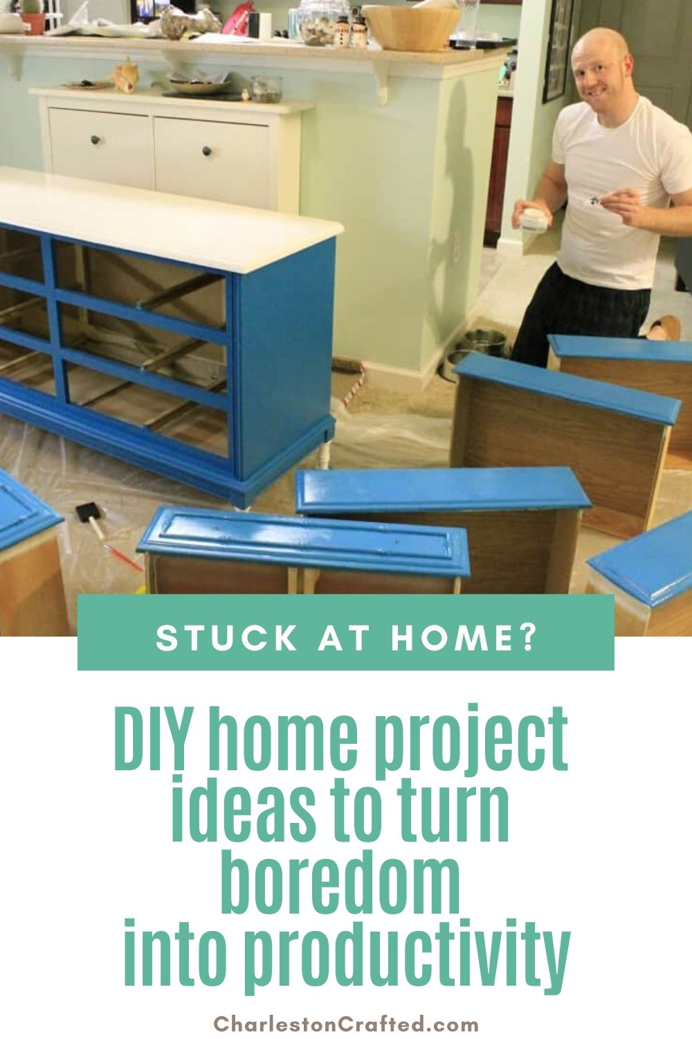 stuck-at-home? DIY project ideas to turn boredom into productivity
