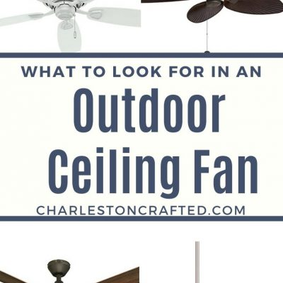 The best ceiling fan for screened porch