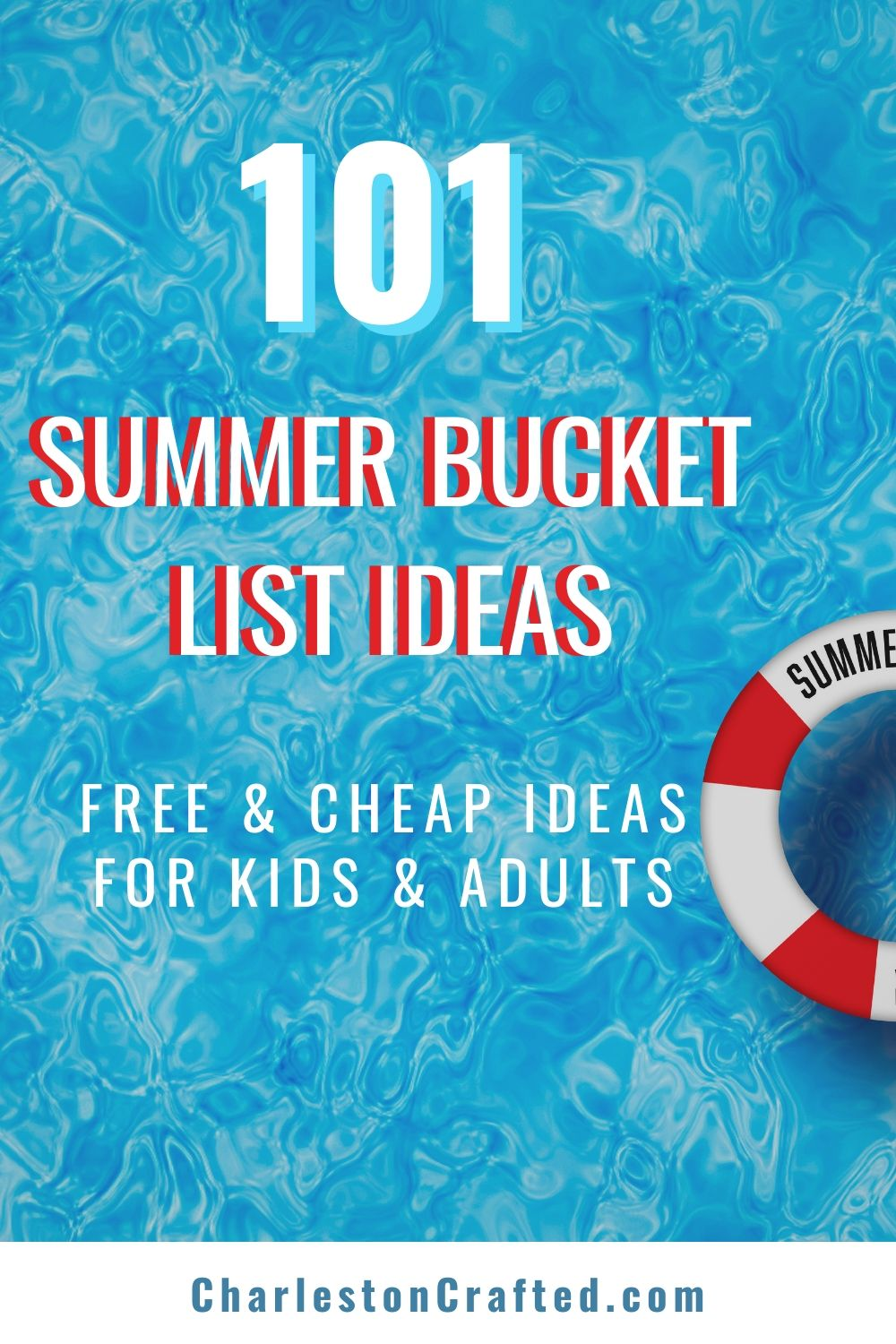 FREE printable summer bucket list ideas