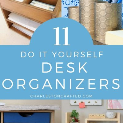 11 do it yourself desk organizers