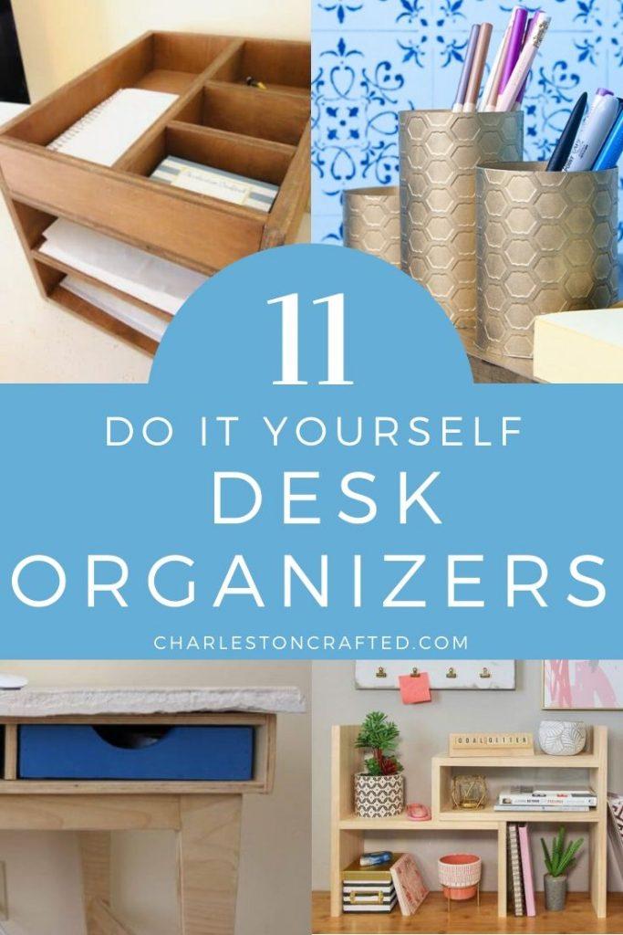 11 do it yourself desk organizers