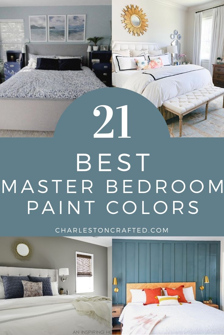 The 10 best paint colors for master bedrooms