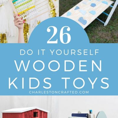 26 DIY wooden toys you can make for your kid or toddler