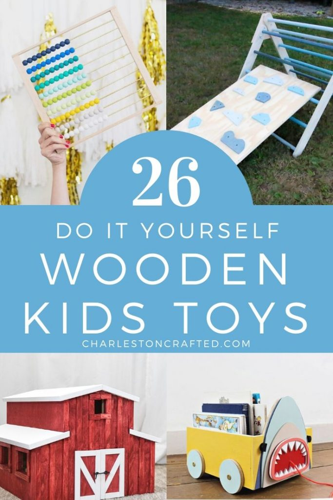 26 do it yourself wooden kids toy ideas