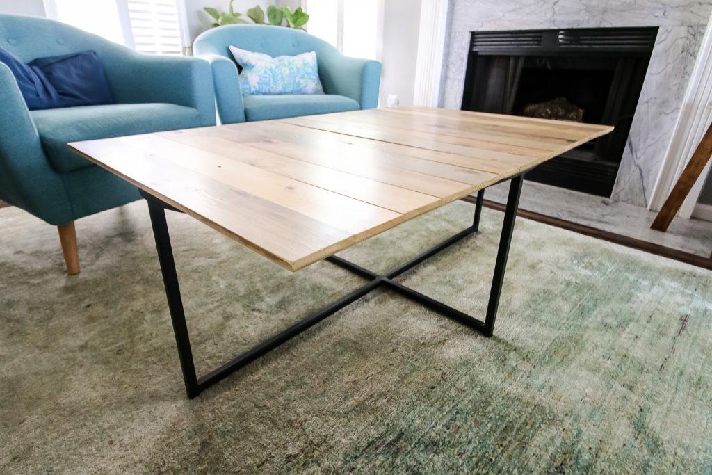 Final tabletop with Kreg jig