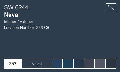 Naval by Sherwin Williams (SW6244)
