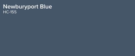 Newburyport Blue - Benjamin Moore (HC-155)