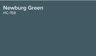 Newburg Green by Benjamin Moore (HC-158)