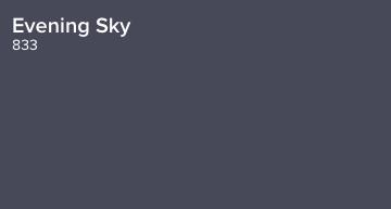 Evening Sky by Benjamin Moore (833)