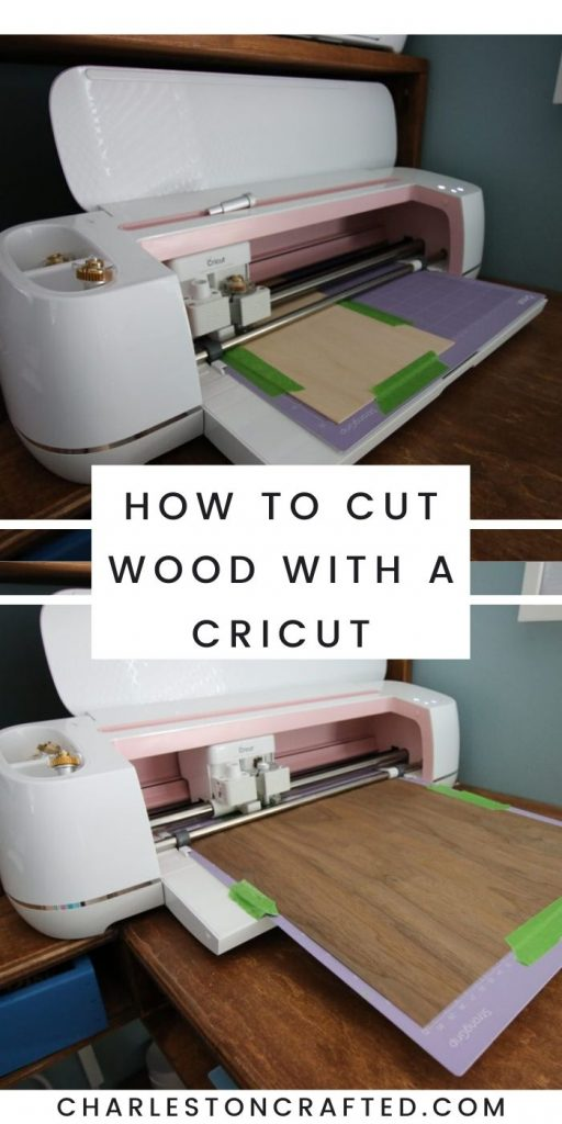 how to cut wood with a cricut
