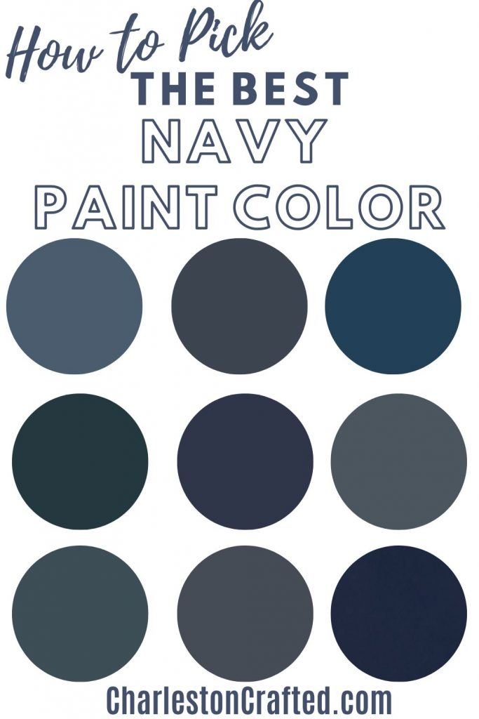 how to pick the best navy paint color for your home