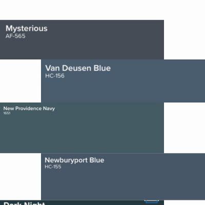The Best Classic Navy Paint Colors