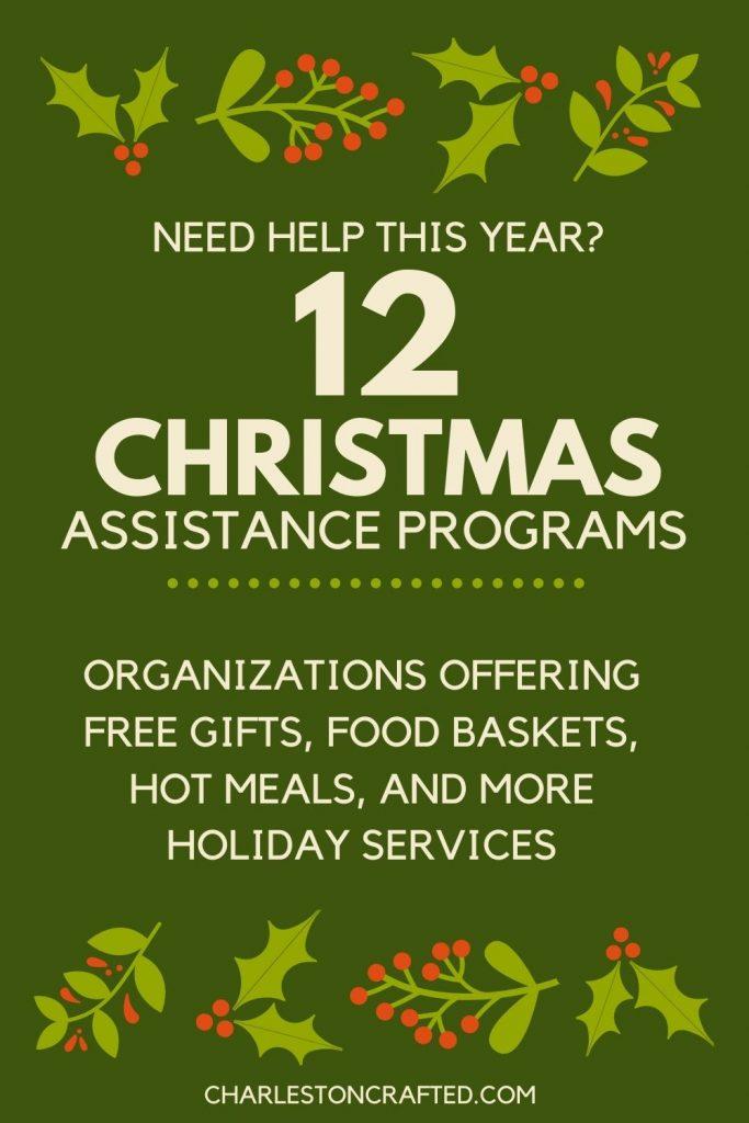 12 christmas assistance programs